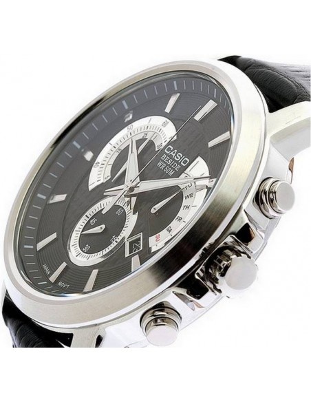 Chic Time   Montre Homme Casio BEM-506L-1AVDF Noir    Prix : 130,00€