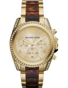 Chic Time | Montre Femme Michael Kors Blair MK6094 Marron  | Prix : 197,40€