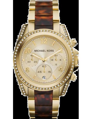 Chic Time | Montre Femme Michael Kors Blair MK6094 Marron  | Prix : 254,15€