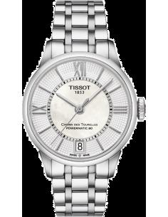 Chic Time | Montre Femme Tissot Chemin des Tourelles T0992071111800 Argent  | Prix : 795,00€