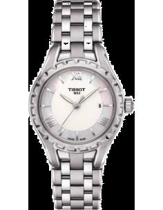 Chic Time   Montre Femme Tissot LADY T072 T0720101111800 Argent    Prix : 370,00€