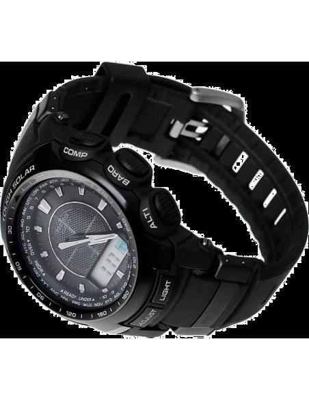 Chic Time   Montre Homme Casio ProTrek PRW-5100-1ER Noir    Prix : 384,00€