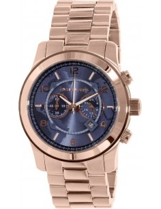 Chic Time | Montre Homme Michael Kors Runway MK8358 Bracelet Doré rose En Acier Inoxydable  | Prix : 237,15€