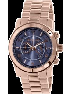 Chic Time | Montre Homme Michael Kors Runway MK8358 Bracelet Doré rose En Acier Inoxydable  | Prix : 239,20€