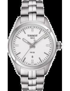 Chic Time   Montre Femme Tissot PR 100 T1012101103600 Argent    Prix : 380,00€