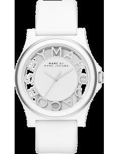 Chic Time | Montre Femme Marc Jacobs Henry MBM1241 Blanc  | Prix : 179,00€