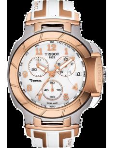 Chic Time | Montre Femme Tissot T Race T0484172701200 Blanc  | Prix : 670,00€
