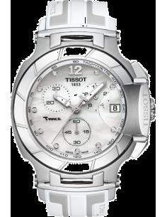 Chic Time | Montre Femme Tissot T Race T0484171711600 Blanc  | Prix : 950,00€