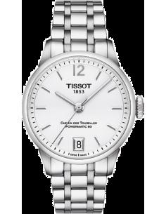 Chic Time | Montre Femme Tissot Chemin des Tourelles T0992071103700 Blanc  | Prix : 795,00€