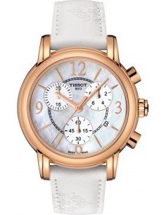 Chic Time | Montre Femme Tissot Dressport T0502173711700 Blanc  | Prix : 495,00 €
