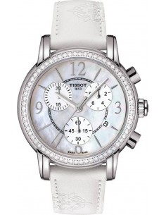 Chic Time | Montre Femme Tissot Dressport T0502176711700 Blanc  | Prix : 1,775.00