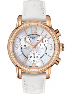 Chic Time | Montre Femme Tissot Dressport T0502176711701 Blanc  | Prix : 1,835.00
