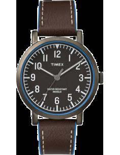 Chic Time   Timex  - Montre Homme Timex T2P506D7 Marron  - Prix : 75,99 €