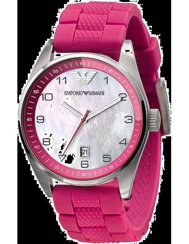 Chic Time | Montre Femme Emporio Armani AR5880 Bracelet rose bonbon  | Prix : 199,00€
