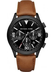 Chic Time | Montre Homme Michael Kors Gareth MK8450 Marron  | Prix : 249,00 €