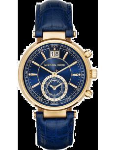 Chic Time   Montre Femme Michael Kors Sawyer MK2425 Bleu    Prix : 237,15€
