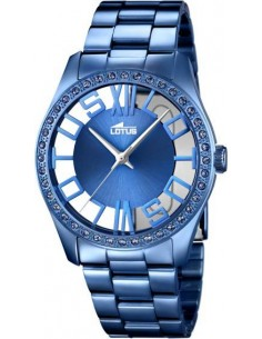 Chic Time | Montre Femme Lotus Trendy L18251/1 Bleu  | Prix : 149,00€