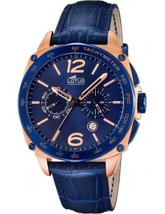 Chic Time | Montre Homme Lotus Smart Casual L18217/1 Bleu  | Prix : 229,00 €