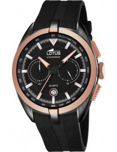 Chic Time | Montre Homme Lotus Smart Casual 18188/1 Noir  | Prix : 179,00 €