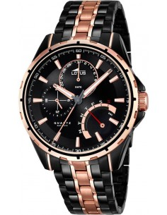 Chic Time | Montre Lotus Smart Casual 18207/1 Bicolore Noir/Or  | Prix : 279,00 €