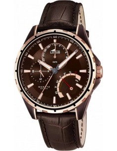 Chic Time | Montre Homme Lotus Smart Casual 18211/1 Marron  | Prix : 199,00 €