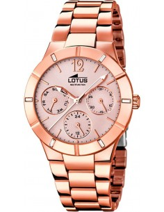 Chic Time | Montre Femme Lotus Trendy 15915/2 Or Rose  | Prix : 119,00€