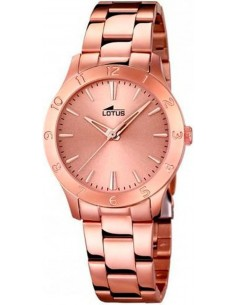 Chic Time | Montre Femme Lotus Trendy 18141/2 Or Rose  | Prix : 99,00 €