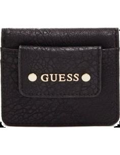 Chic Time | Portefeuille Guess Gretchen de couleur noire  | Prix : 29,50€