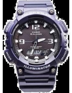 Chic Time | Montre Homme Casio Sport AQ-S810W-2A2VDF Bleu  | Prix : 59,00€