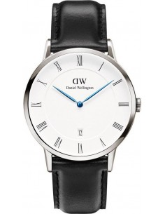 Chic Time | Montre Homme Daniel Wellington Dapper Sheffield 1121DW Cuir noir  | Prix : 153,30 €