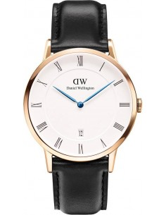 Chic Time | Montre Homme Daniel Wellington Dapper Sheffield 1101DW Lunette or rose  | Prix : 109,50 €