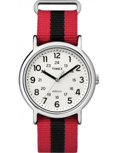 Chic Time | Montre Mixte Timex Weekender TW2P680009J    Rouge  | Prix : 42,00 €