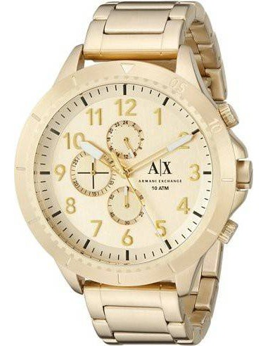Chic Time | Montre Homme Armani Exchange AX1752 Or  | Prix : 245,00€