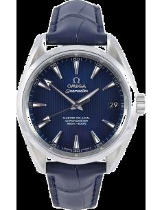 Chic Time | Montre Homme Omega Seamaster 23113392103001 Bleu  | Prix : 4,900.00