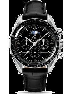 Chic Time | Montre Homme Omega Speedmaster 38765031 Noir  | Prix : 4,900.00