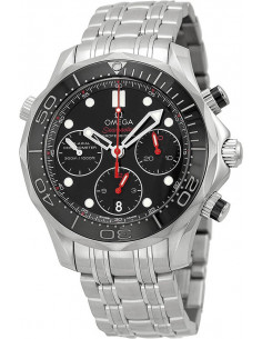 Chic Time | Montre Homme Omega Seamaster 21230425001001 Argent  | Prix : 4,900.00