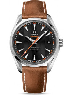 Chic Time | Montre Homme Omega Seamaster 23112422101002 Marron  | Prix : 4,900.00