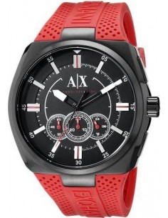 Chic Time   Montre Homme Armani Exchange AX1803 Rouge    Prix : 209,00€