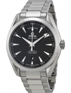 Chic Time | Montre Homme Omega Seamaster 23110422201001 Argent  | Prix : 6,500.00