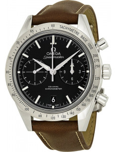 Chic Time | Montre Homme Omega Speedmaster 33112425101001 Marron  | Prix : 7,200.00