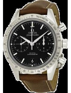Chic Time | Montre Homme Omega Speedmaster 33112425101001 Marron  | Prix : 7,200.00