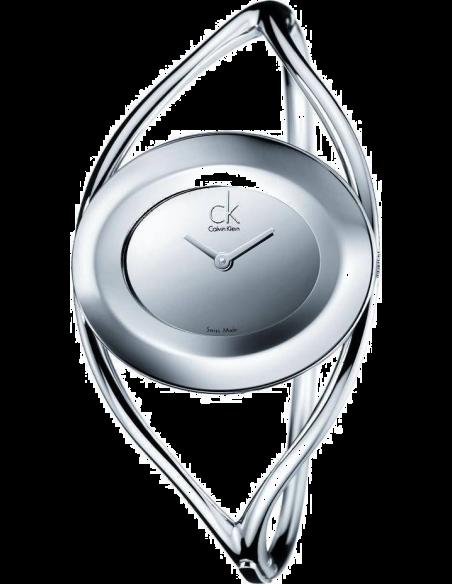 Chic Time | Montre Femme Calvin Klein CK Delight M argentées K1A23708  | Prix : 279,00€