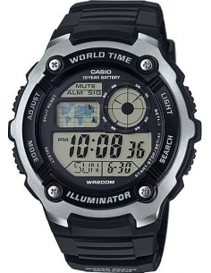 Chic Time | Montre Homme Casio Sport AE-2100W-1AVEF  Noir  | Prix : 39,00€