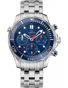 Chic Time | Montre Homme Omega Seamaster 21230425003001 Argent  | Prix : 4,900.00
