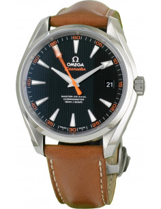 Chic Time | Montre Homme Omega Seamaster 23112422101002 Marron  | Prix : 4,900.00