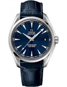 Chic Time | Montre Homme Omega Seamaster 23113422103001 Bleu  | Prix : 4,900.00