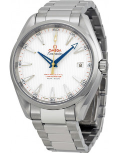 Chic Time | Montre Homme Omega Seamaster 23110422102004 Argent  | Prix : 5,000.00