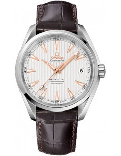 Chic Time | Montre Homme Omega Seamaster 23113422102003 Marron  | Prix : 5,100.00