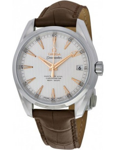 Chic Time | Montre Homme Omega Seamaster 23113392102003 Marron  | Prix : 5,100.00