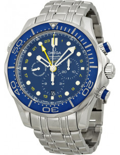 Chic Time | Montre Homme Omega Seamaster 21230445203001 Argent  | Prix : 5,800.00